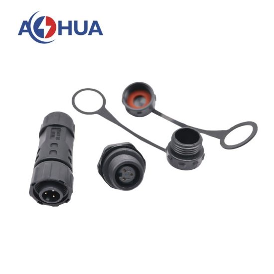 M12 Waterproof panel connector