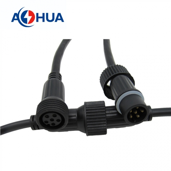 M23 6PIN PVC Waterproof connector