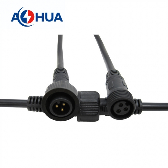 M14 3PIN PVC Waterproof connector