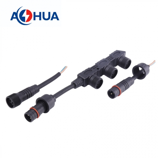 1 in 3 out Distributor Waterproof Connector