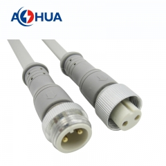 M16 2pin Waterproof Connector