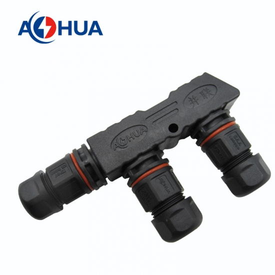 M16 F LED Waterproof connector
